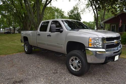 lifted 2008 chevy silverado 2500hd for sale in prairie grove illinois classified. Black Bedroom Furniture Sets. Home Design Ideas