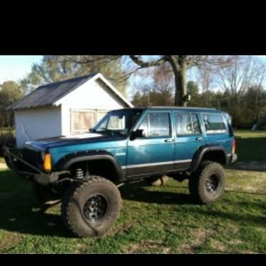 lifted off road jeep cherokee xj 96 for sale in beech bluff tennessee. Cars Review. Best American Auto & Cars Review