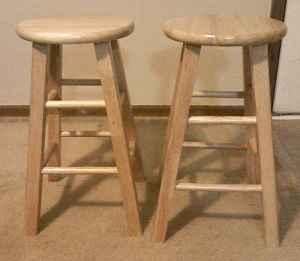 Light Colored Wood Bar Stools 10 Mooresville