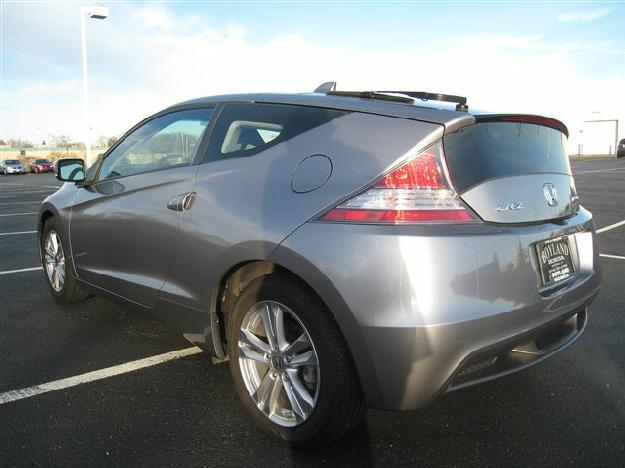 light grey 2011 honda cr z ex nav 2 door hatchback dealer greenfield for sale in greenfield. Black Bedroom Furniture Sets. Home Design Ideas