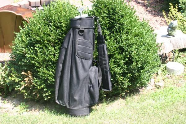 Light weight Golf bag, new putter, and lob wedge - $25