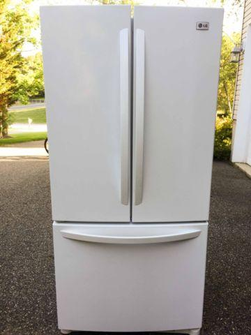 Lightly Used Lg French Door Refrigerator For Sale In Flanders New