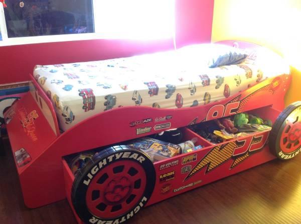lightning mcqueen car bed for sale in westminster. Black Bedroom Furniture Sets. Home Design Ideas