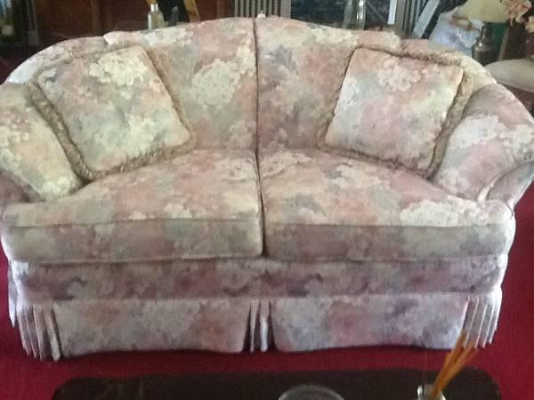 Like brand new love seats - $400