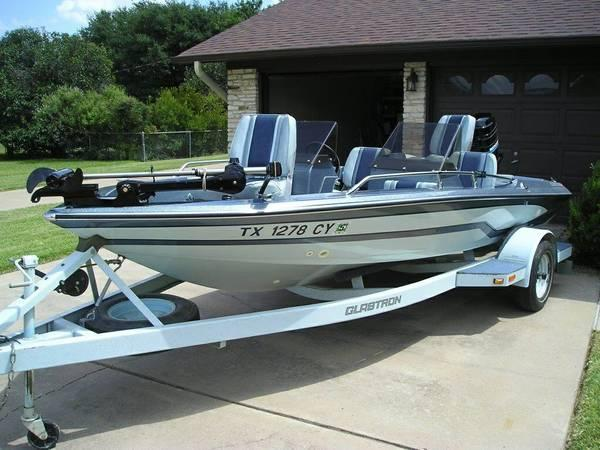 Like New 1985 Glastron Bass Boat For Sale In Cedar Park
