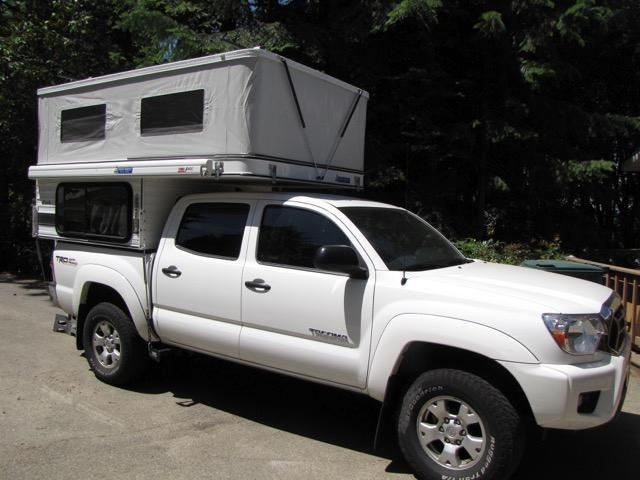 Like New 2013 Pop Up Truck Camper For Sale In Coeur D