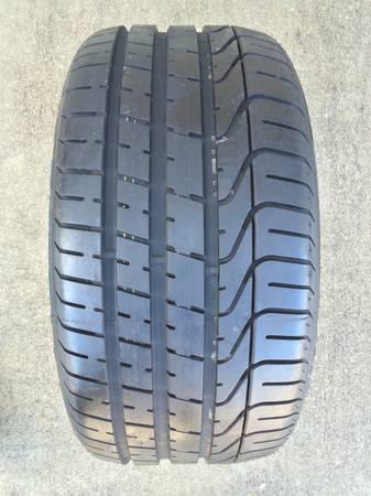 Like New 255 35 Zr18 Pirelli Pzero Z Rated Tires 95 Tread Nice