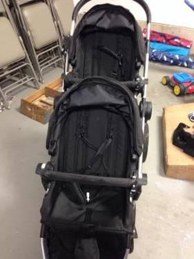 Like new Black City Select Stroller with Accessories