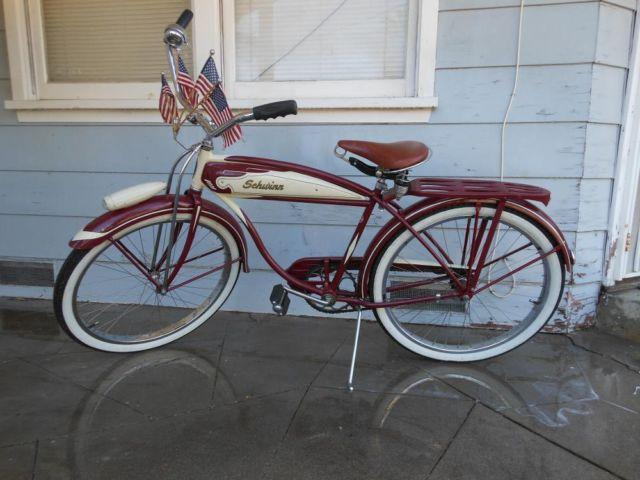 Like new collectors 1952 schwinn hornet bicycle for sale in beaumont