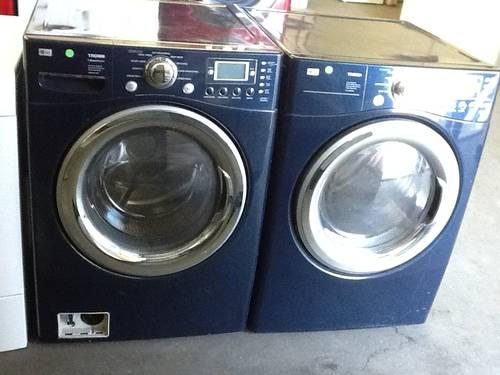 Like New Ge Front Load Washer And Dryer Set For Sale In