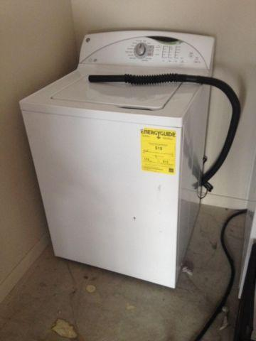 Like new high efficiency GE washer and dryer with warranty
