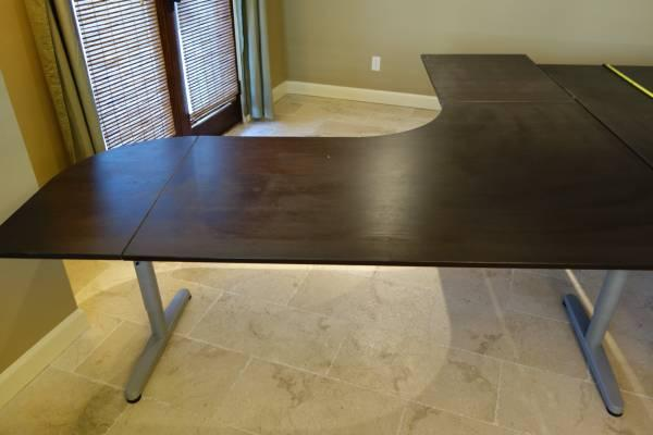 Like New IKEA GALANT Desk Combination Corner Desk