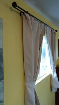 Like New Luxurious Curtains and Matching Rodes [phone