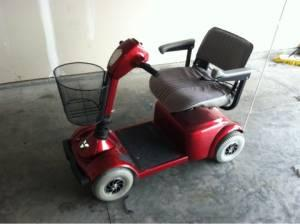 Like new pride victory 10 scooter motorized wheelchair for Motor wheelchair for sale