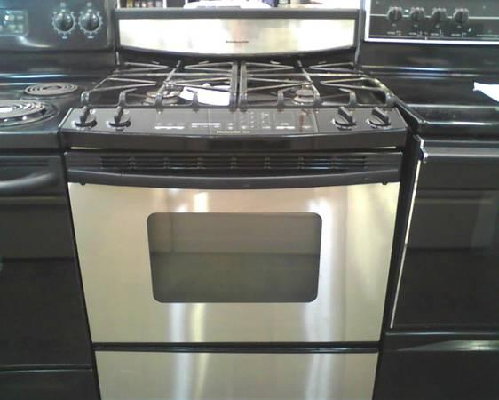 Like New Stainless Steel Gas Range Convection Oven Great