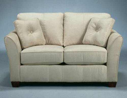 Like New Trendmaker Model Home Ashely Furniture Ivory Love Seat W 4 Pillows For Sale In Houston