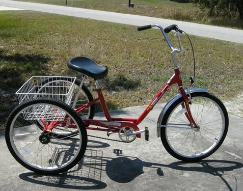 Miami Sun Adult Tricycle 92