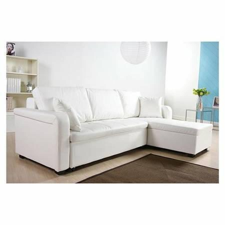 like new white sectional sofa bed for sale in