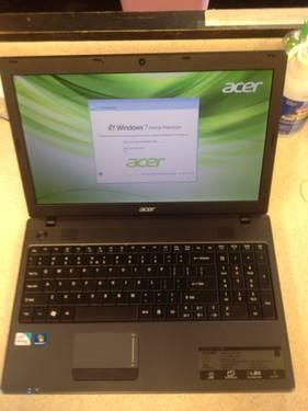 LikeNew Acer Laptop 2.13GHz DualCore 320GB 4GB WiFI WebCam MatteScreen