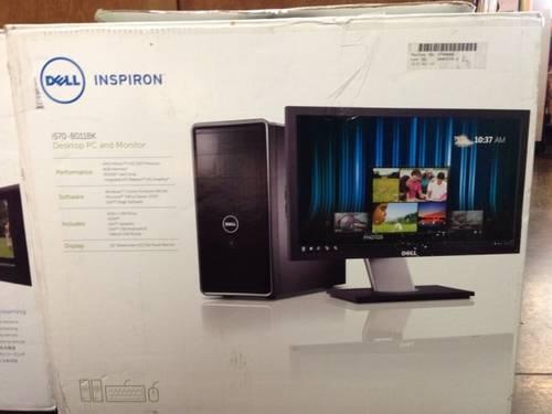 LikeNew Dell DualCore AMD Desktop 3.0GHz 4GB 500GB w 20 LCD monitor