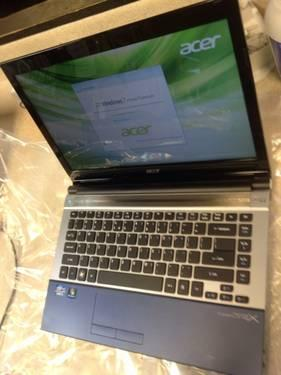 LikeNew ultrathin 14 Acer Laptop Core i3 320GB 4GB USB3.0 8hr Battery