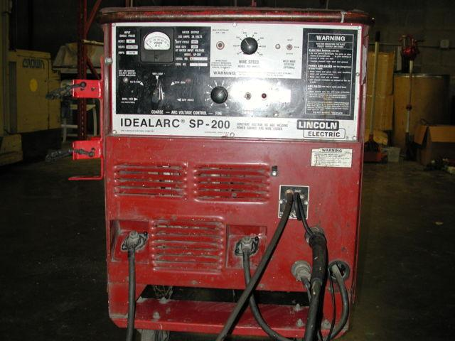 Lincoln Welders For Sale >> Lincoln Idealarc Mig Welder Model Sp 200
