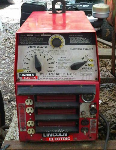 Lincoln Stick Welder 225 Amp  U0026 Generator
