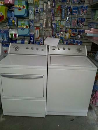 Lines Open Late/Washer & Dryer Sets/Delivery and 1Yr