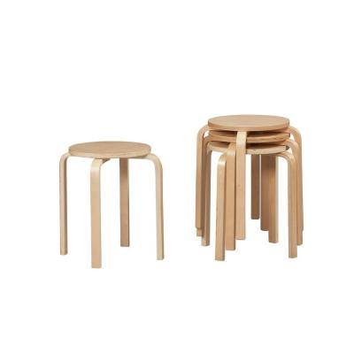 Linon Home Decor Stacking Bar Stool