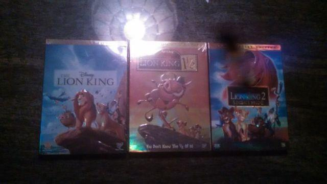 Lion king triligy new dvd set
