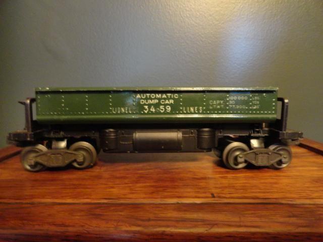 Lionel Automatic Dump Car 3459