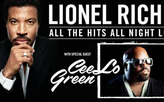 Lionel Richie AND CeeLo Green - $150