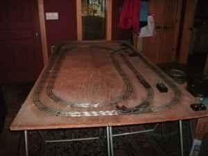 LIONEL TRAIN LAYOUT - $100 (NORTH LAKE TAHOE)