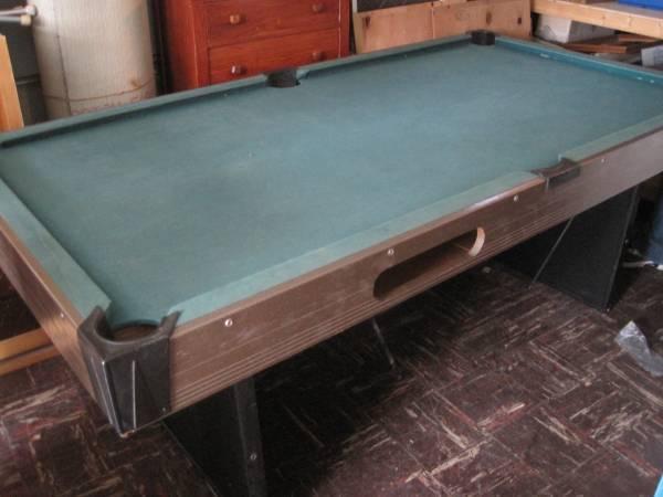 Liquidating Estate Items Vintage Retro 1963 Pool Table  Items - $100