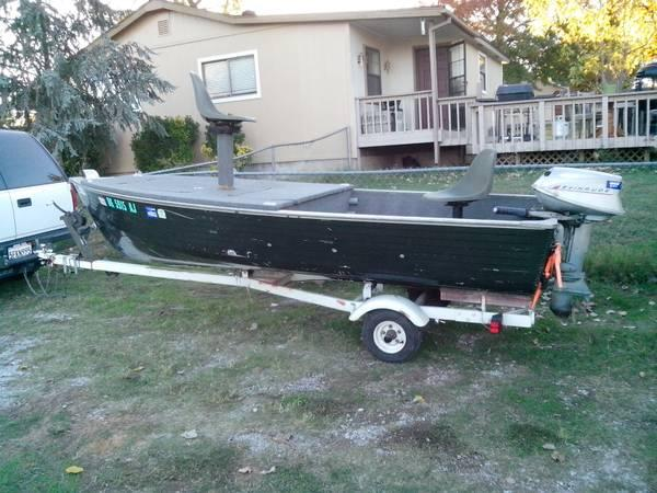 Little aluminum fishing boat for sale in choctaw for Best aluminum fishing boat for the money