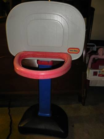 Little Tikes Basketball Hoop - $4