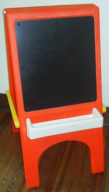 Little Tikes Child Size Double Sided Chalkboard Amp Art Easel