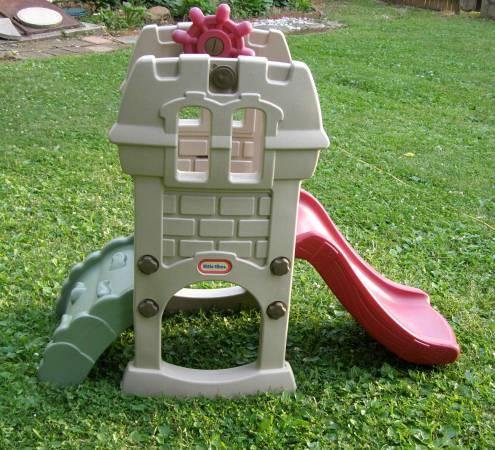 Little Tikes Climb  Slide Castle Outdoor Slide For Baby  Toddler - $50