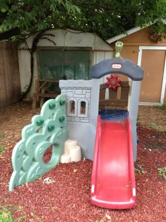 Little Tikes Endless Adventures Rock Climber and Slide - $200