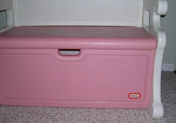 Little Tikes Pink Bench Toy Box Hot Girls Wallpaper