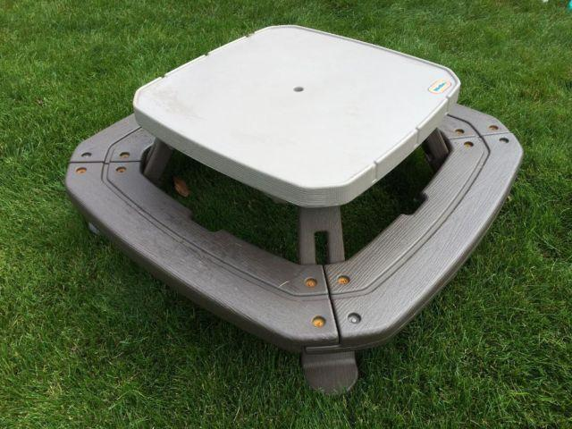 Little Tikes Large Picnic Table Seats 8 Whale Teeter