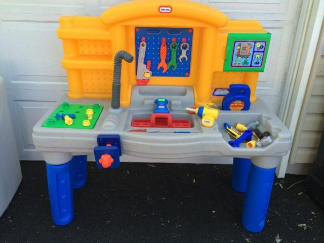 Swell Little Tikes Large Work Bench Revvn Roar Mechanics Ocoug Best Dining Table And Chair Ideas Images Ocougorg