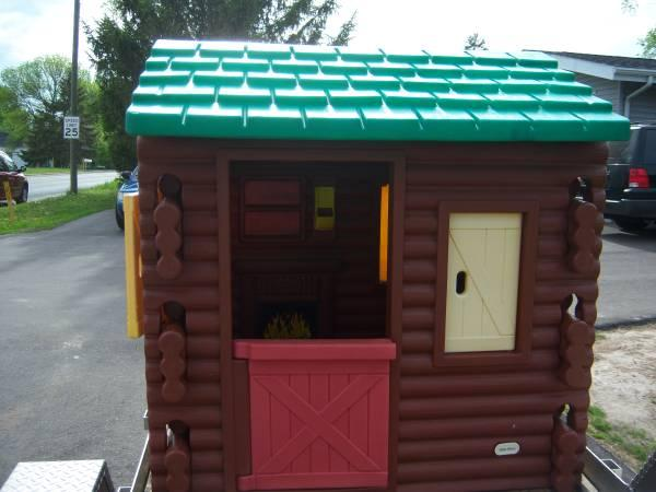 Little Tikes Log Cabin Playhouse - $200