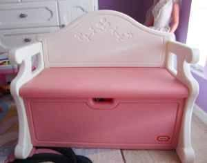 Little Tikes Pink Victorian Toy Box Bench North Port For Sale In Sarasota Florida