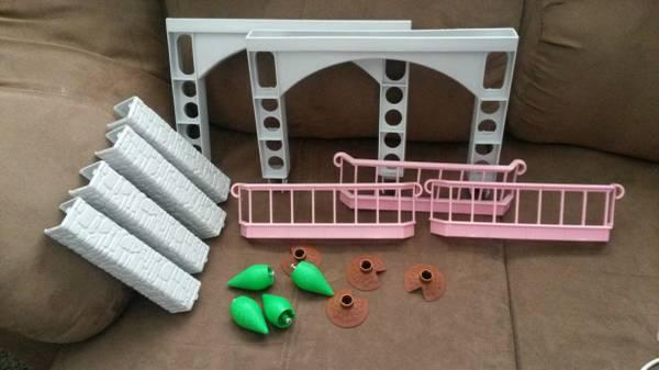 Little Tikes Purple Roof Dollhouse replacement pieces - $10