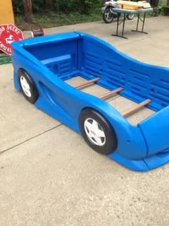 Little Tikes Race Car Bed Twin For Sale In Rantoul