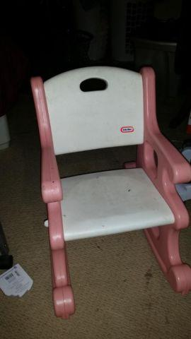 little tikes rocking chair