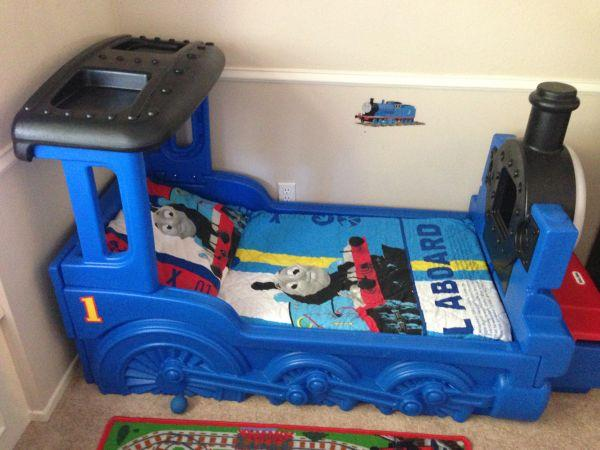 Little Tikes Thomas Amp Friends Train Bed With Mattress
