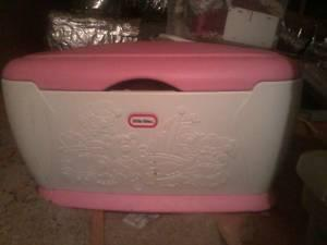 little tikes toy box - $40 gray ga