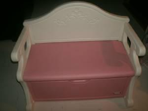 Little Tikes Victorian Bench Toy Box Pink White West Mobile For Sale In Mobile Alabama
